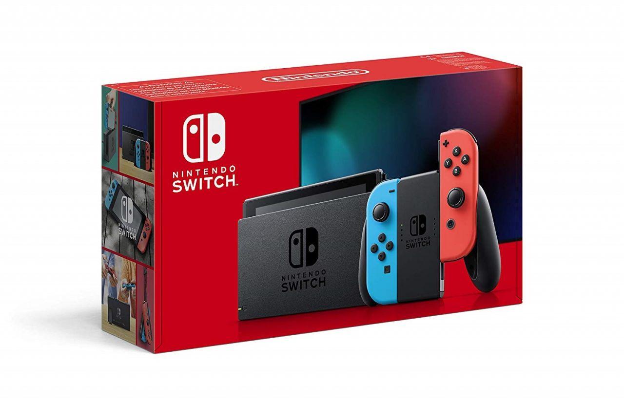 [RETOUR STOCK] La Nintendo Switch avec Joy-Con Bleu et Rouge de retour en France !