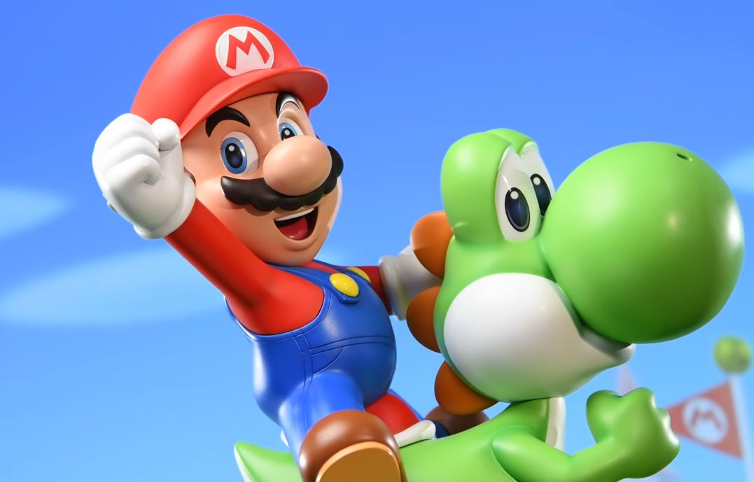 First 4 Figures : La figurine 'Super Mario - Mario et Yoshi'