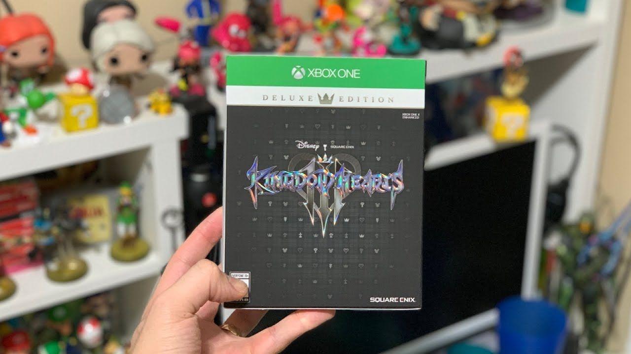 Bon Plan : L'édition Deluxe de Kingdom Hearts 3 sur One à 44,99 euros (au lieu de 89,99...)