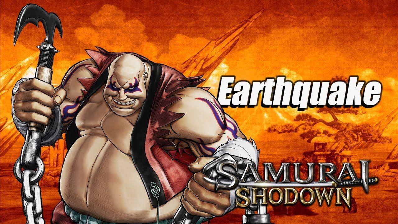 Samurai Shodown : Earthquake fait trembler le sol !
