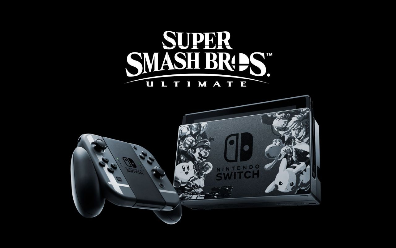 Précommande : Nintendo Switch Edition limitée de Super Smash Bros Ultimate + Super Smash Bros Ultimate