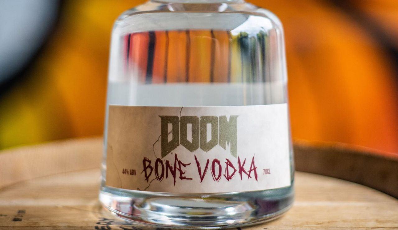 [FUN] DOOM Bone Vodka : La première vodka à l'os (par Bethesda et Rebel Distillers) !