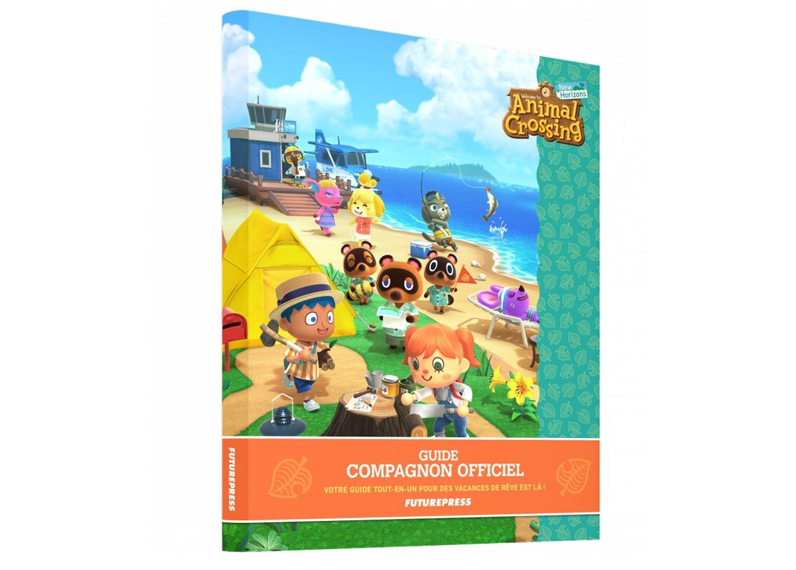 Notre SELECTION du jour : Animal Crossing New Horizons – Guide Compagnon officiel - 06/04