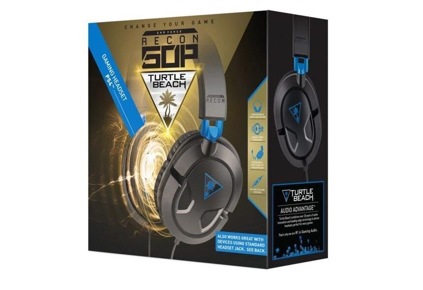 Bon Plan : Casque Ear Force Turtle Beach Recon 50P à 19,99 euros (au lieu de 39,99...)