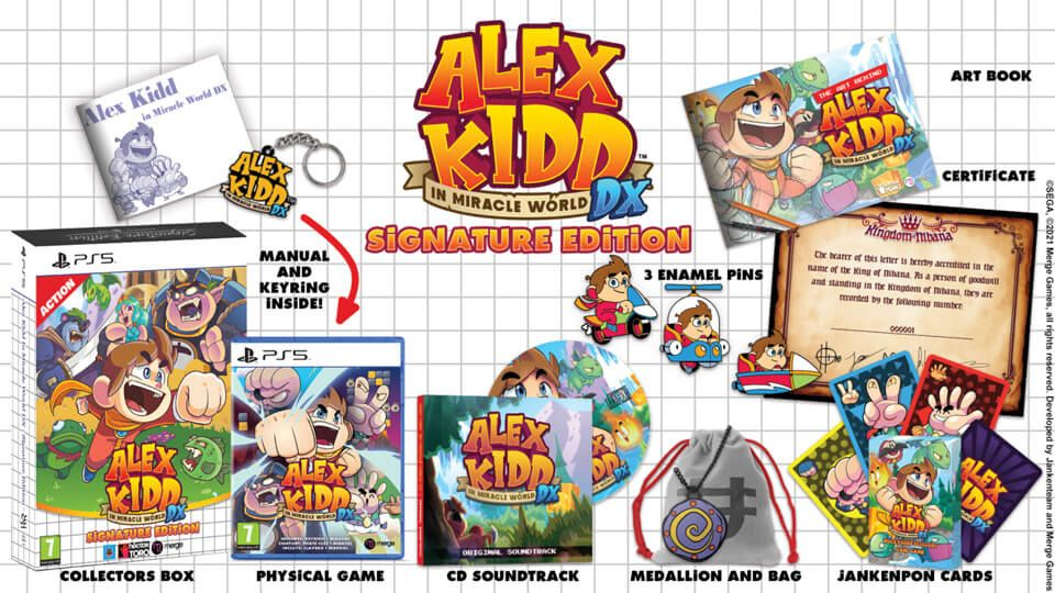 Précommande : Alex Kid in the miracle world DX – Signature Edition sur PS5, PS4, XBOX, SWITCH !!!!!