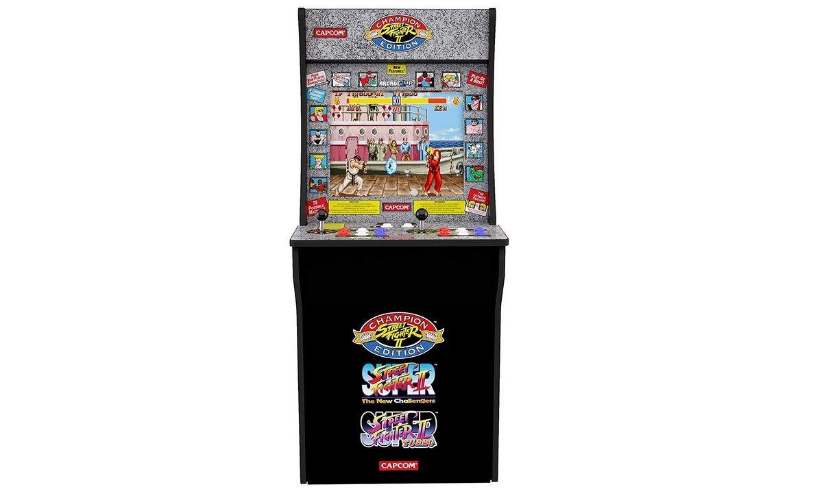 Bon Plan : Borne de jeu d'Arcade Street Fighter II à 299,99 euros (au lieu de 499,99...)