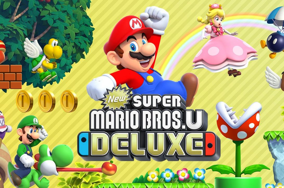 Bon Plan : New Super Mario Bros.U Deluxe sur Switch à 44,49 euros (au lieu de 64,99...)