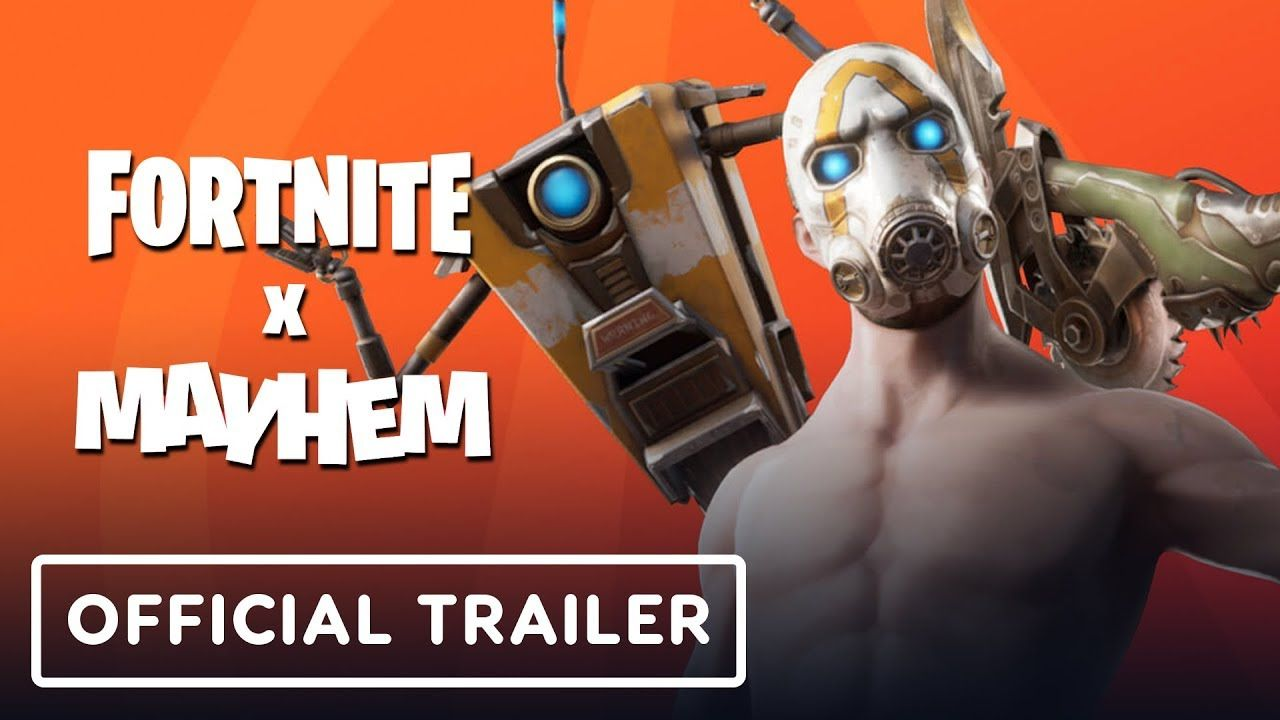Fortnite et Borderlands s'associent le temps d'un évent