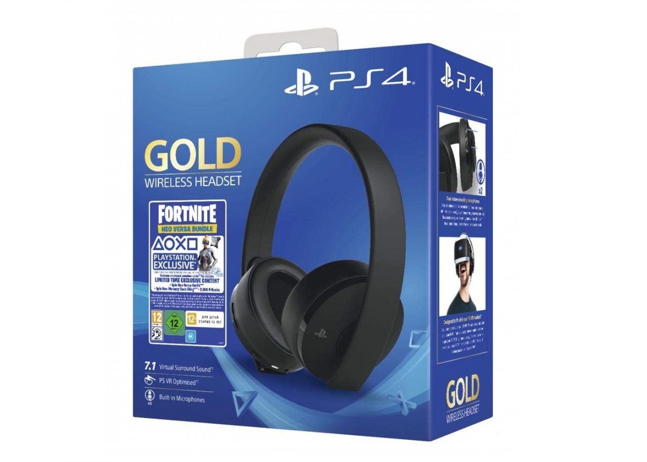 Bon Plan : Casque-Micro PlayStation 4 officiel Sans Fil + code Fortnite à 59,99 euros (au lieu de 89,99...)