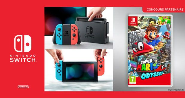 Black Friday FNAC : Console Nintendo Switch + Super Mario Odyssey à 314,99 euros