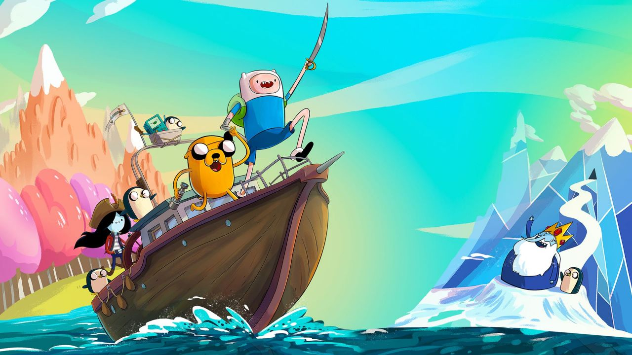 Adventure Time : Les Pirates de la Terre de Ooo : Disponible !