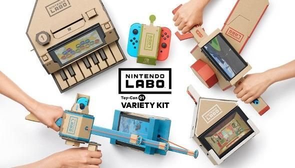 Bon Plan AMAZON : Nintendo Labo - Multi Kit sur Switch à 34,01 euros (au lieu de 69,99...)