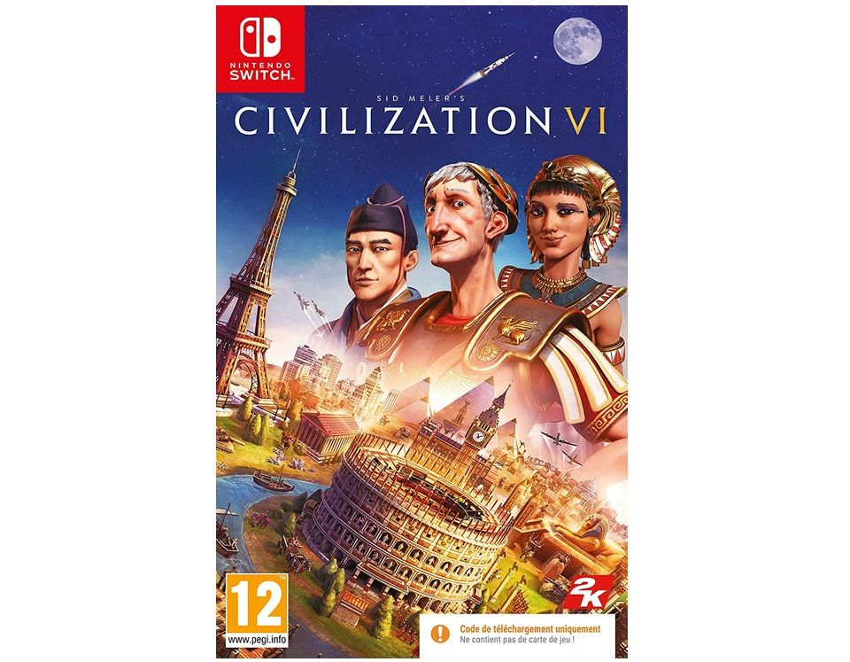 Bon Plan : Civilization VI sur Switch à 15 euros (au lieu de 39,99...)