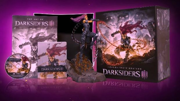 Bon Plan : Edition collector de Darksiders 3 de PS4, Xbox One et PC à 129,99 euros