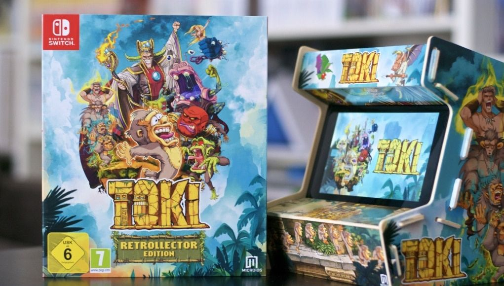 Bon Plan : Toki Collector's Edition Switch à 27,78 euros (au lieu de 49,99...)