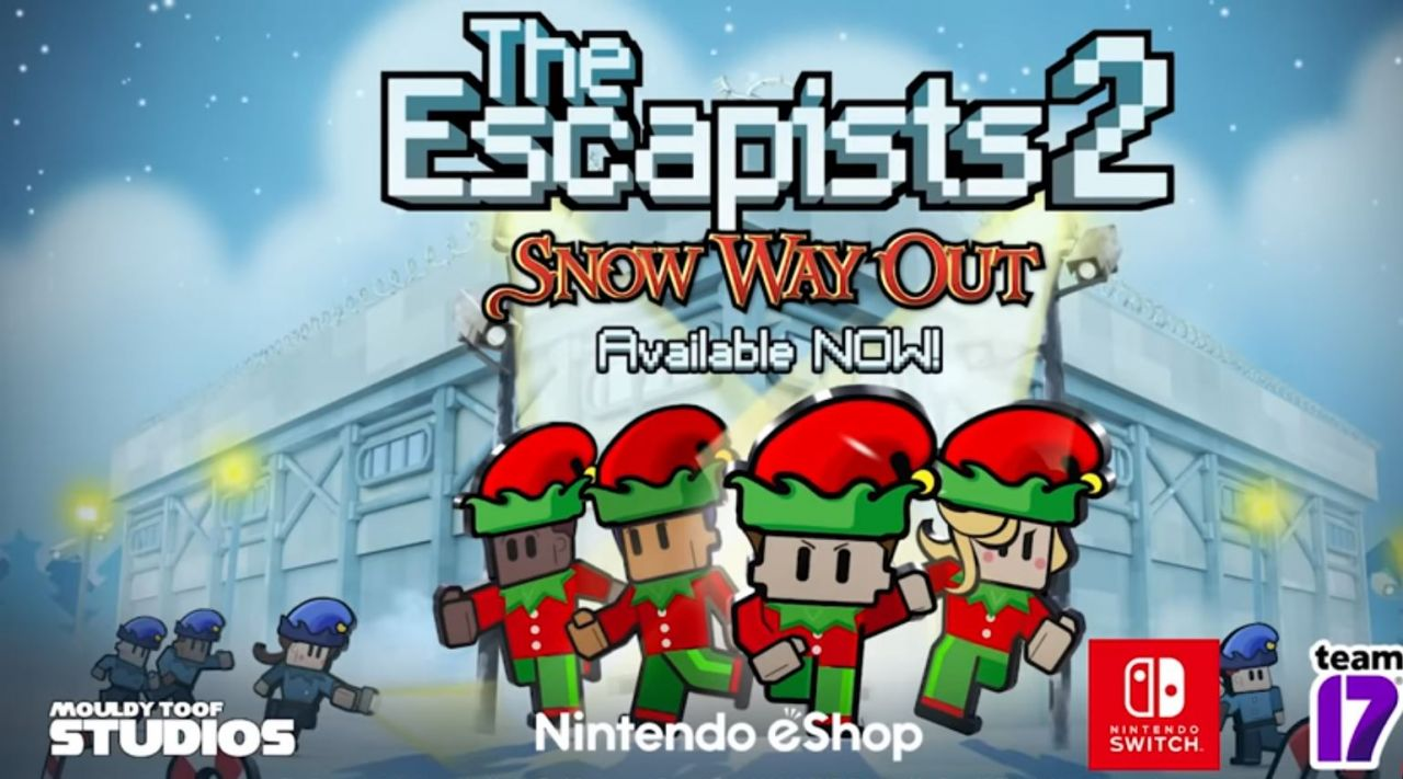 The Escapists 2 : La Mise à Jour Snow Way Out disponible