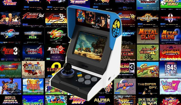 Bon Plan : Neo Geo Mini International - 40 Jeux Inclus à 61,61 euros (au lieu de 149...)