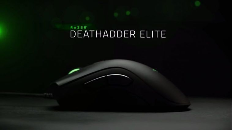 Black Friday : Souris Gaming Razer DeathAdder Elite Noir à 29,99 euros (au lieu de 79,99...)