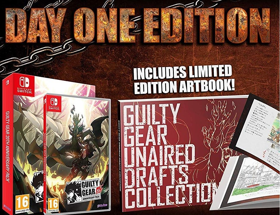 Soldes : Guilty Gear 20th Anniversary sur Nintendo Switch à 19,99 euros (au lieu de 39,99...)