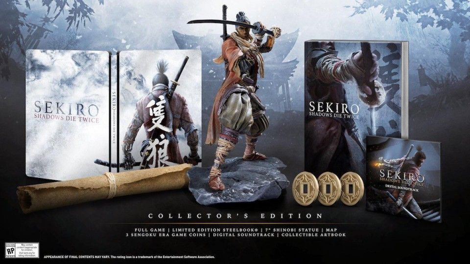 Précommande : L'édition collector de Sekiro - Shadows Die Twice - PS4 et Xbox One