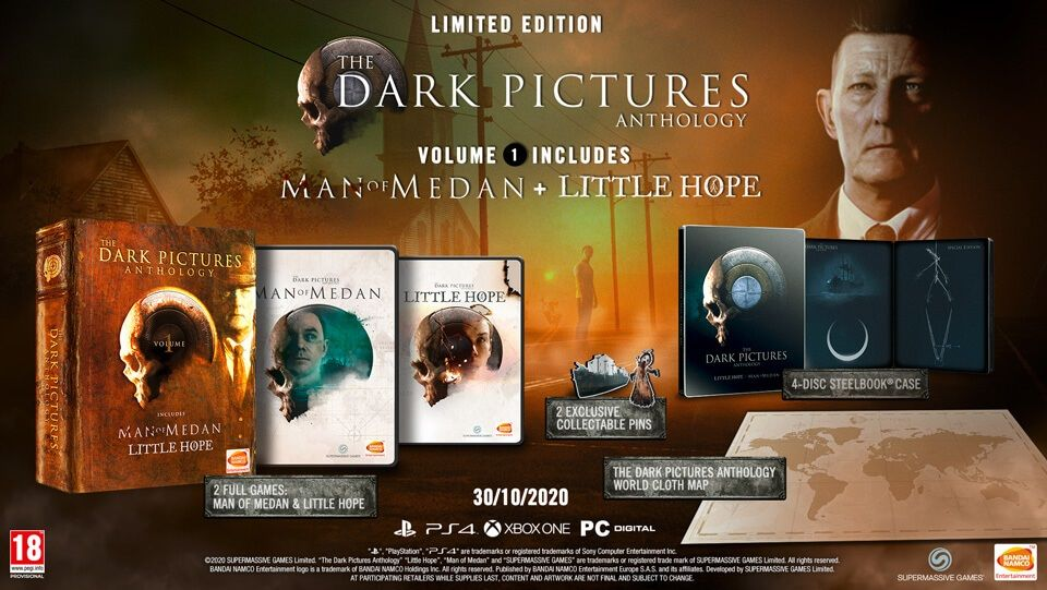 Précommande : The Dark Pictures - Little Hope + Man of Medan – édition limitée