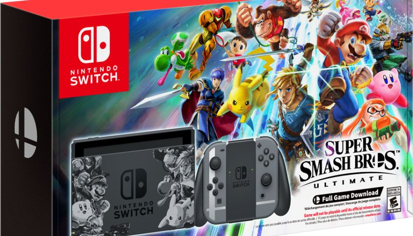 Bon Plan : L'édition limitée de la console Nintendo Switch 'Super Smash Bros Ultimate' !