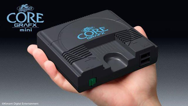 Précommande : PC Engine CoreGrafx Mini sur AMAZON