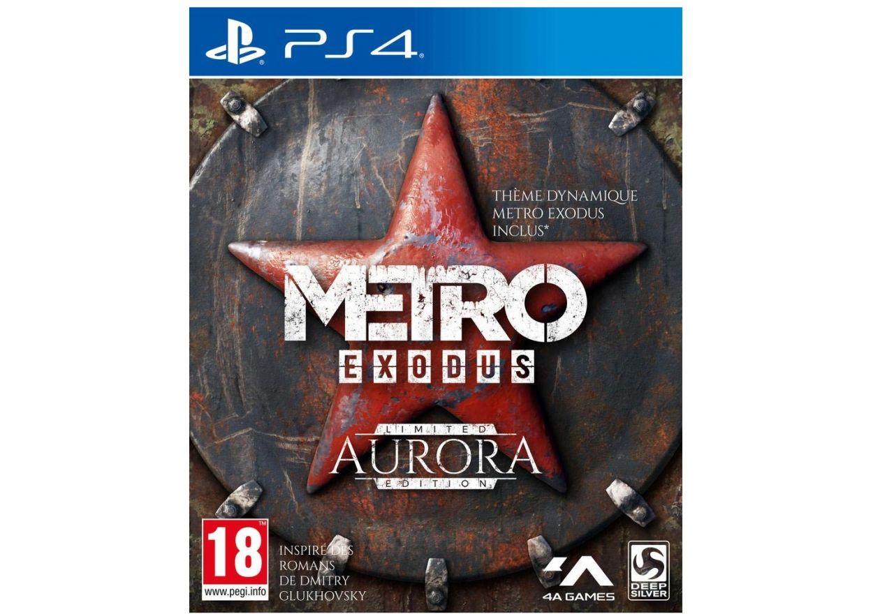 Bon Plan AMAZON : Metro Exodus - Edition Limitée Aurora sur PS4 à 36,48 euros (au lieu de 99,99...)