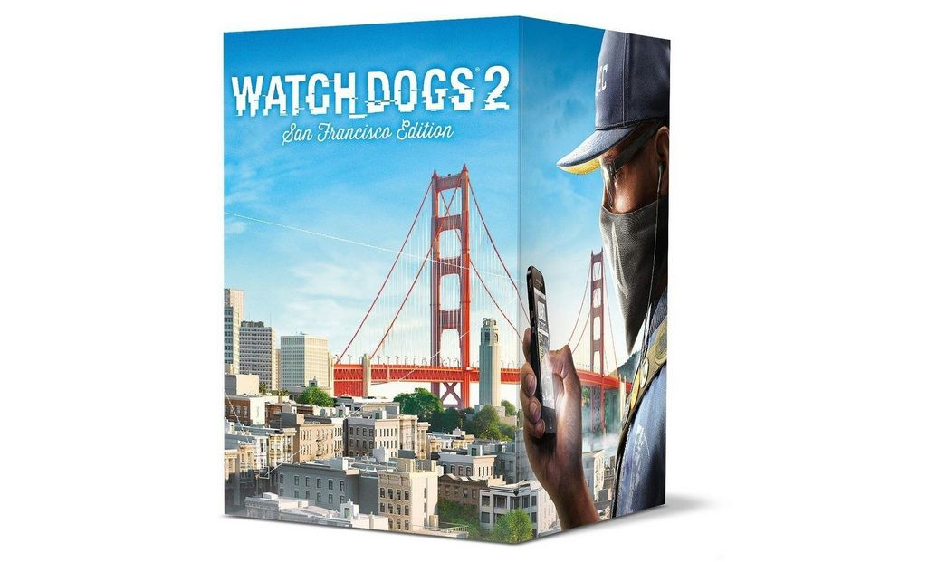 Bon Plan : Edition collector 'San Francisco' de Watch Dogs 2 à 39,99 euros (au lieu de 109,99...)