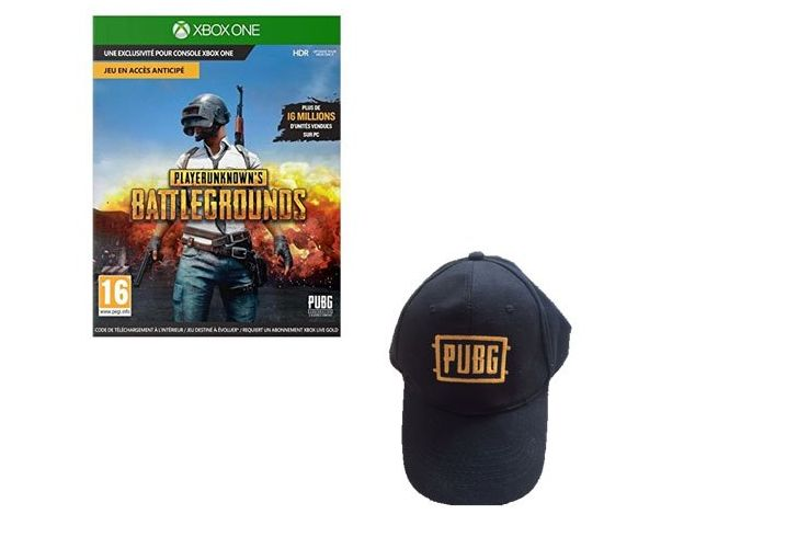 Bon Plan : PlayerUnknown's Battlegrounds PUBG sur Xbox One + Casquette à 14,99 euros