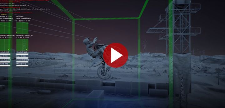 Monster Energy Supercross - The official Videogame 3 :  Un nouveau système de physique