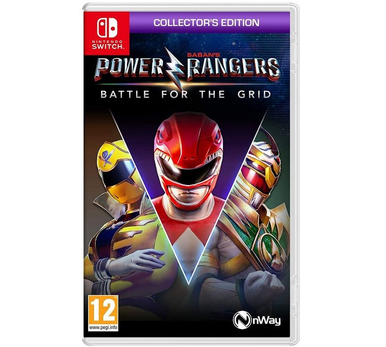Bon Plan : Edition collector de Power Rangers Battle for the Grid sur Switch à 24,99 euros