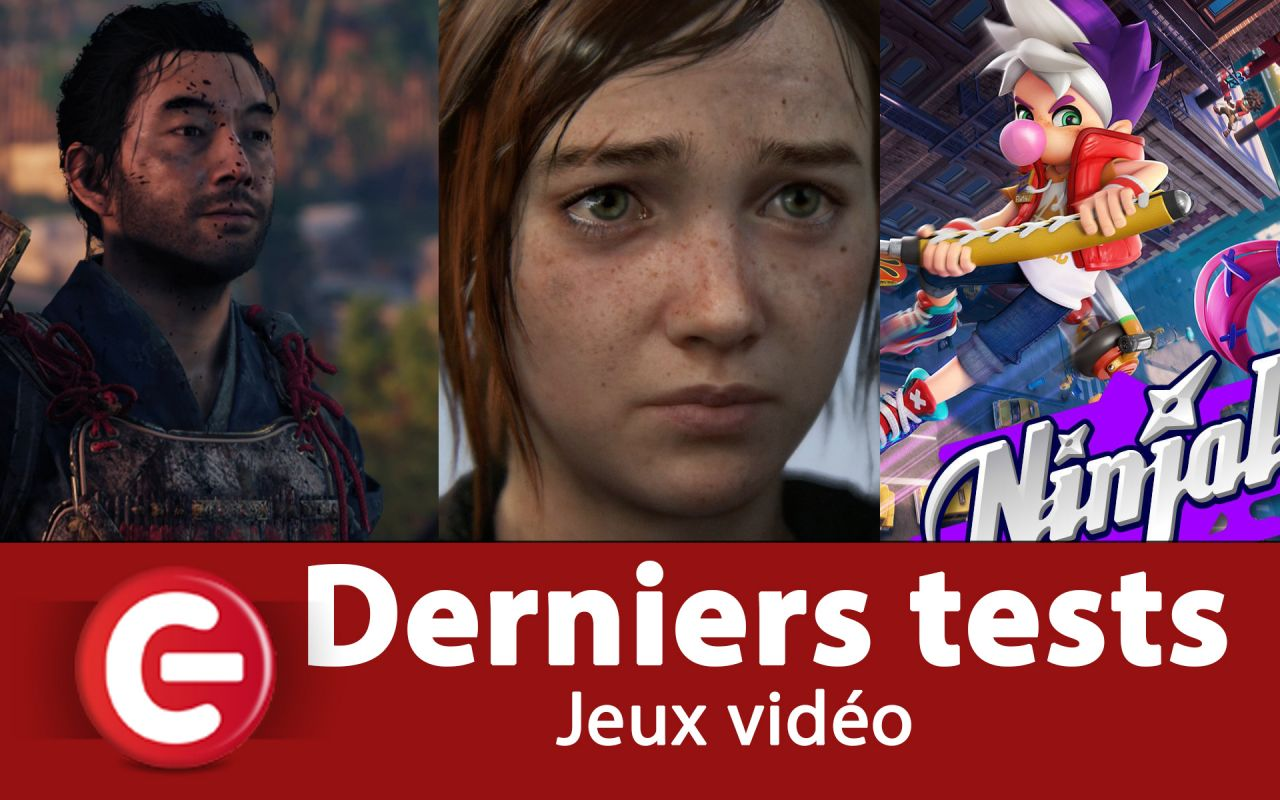 Nos derniers tests à découvrir : Ghost of Tsushima, F1 2020, The Last of Us 2, Persona 5 Royal, Maneater...
