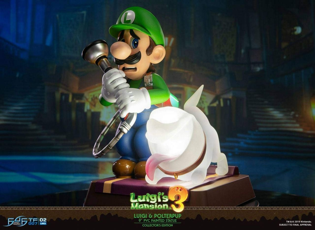 Notre SELECTION du jour : La Version Collector de la figurine F4F de LUIGI - 25 cm - 25/01