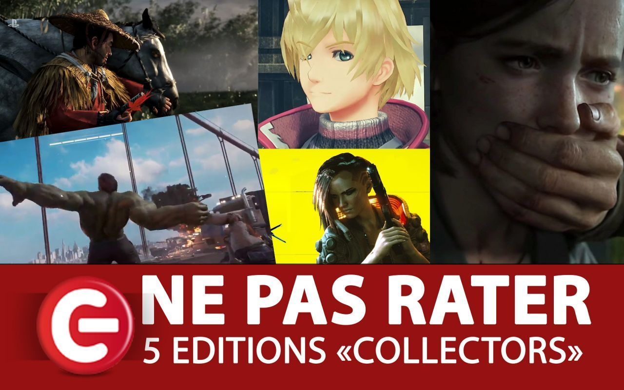 Les éditions collectors PS4, Xbox One et Nintendo Switch à ne pas rater ! (Cyberpunk, Xenoblade Chronicles DE, Ghost of Tsushina...)