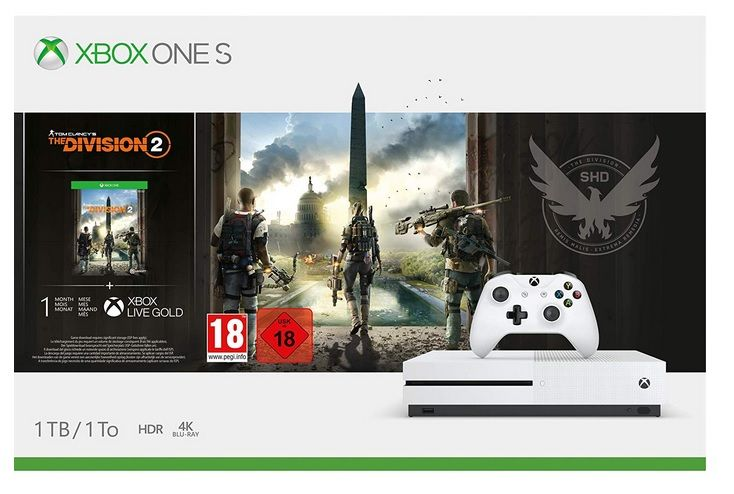 Bon Plan : Pack de Console Xbox One S 1 To + Tom Clancy's The Division 2 à 229.99 euros (au lieu de 299,99...)