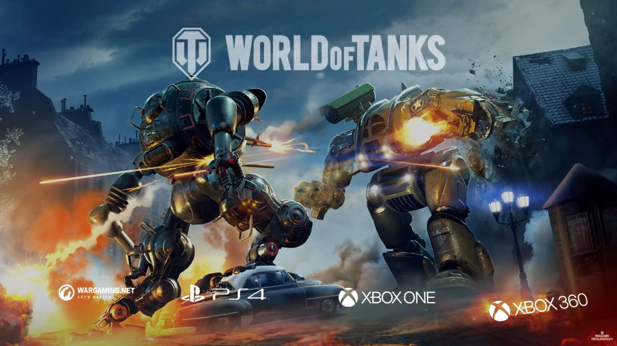 World of Tanks : Mercenaries - Les Mechs arrivent !