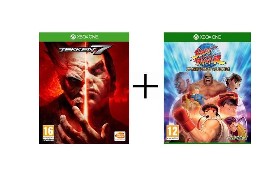 Bon Plan : Pack 2 jeux Xbox One : Tekken 7 + Street Fighter 30th Anniversary Collection à 34,99 euros !