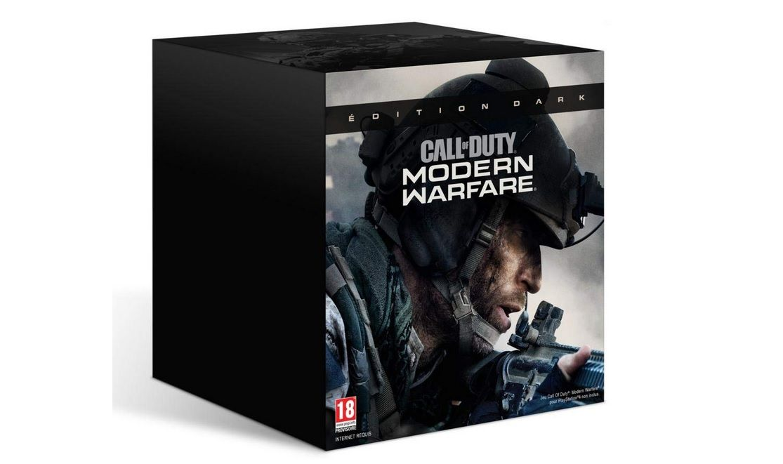 [RESTOCK AMAZON] Version collector 'DARK' de Call of Duty Modern Warfare sur PS4 et Xbox One