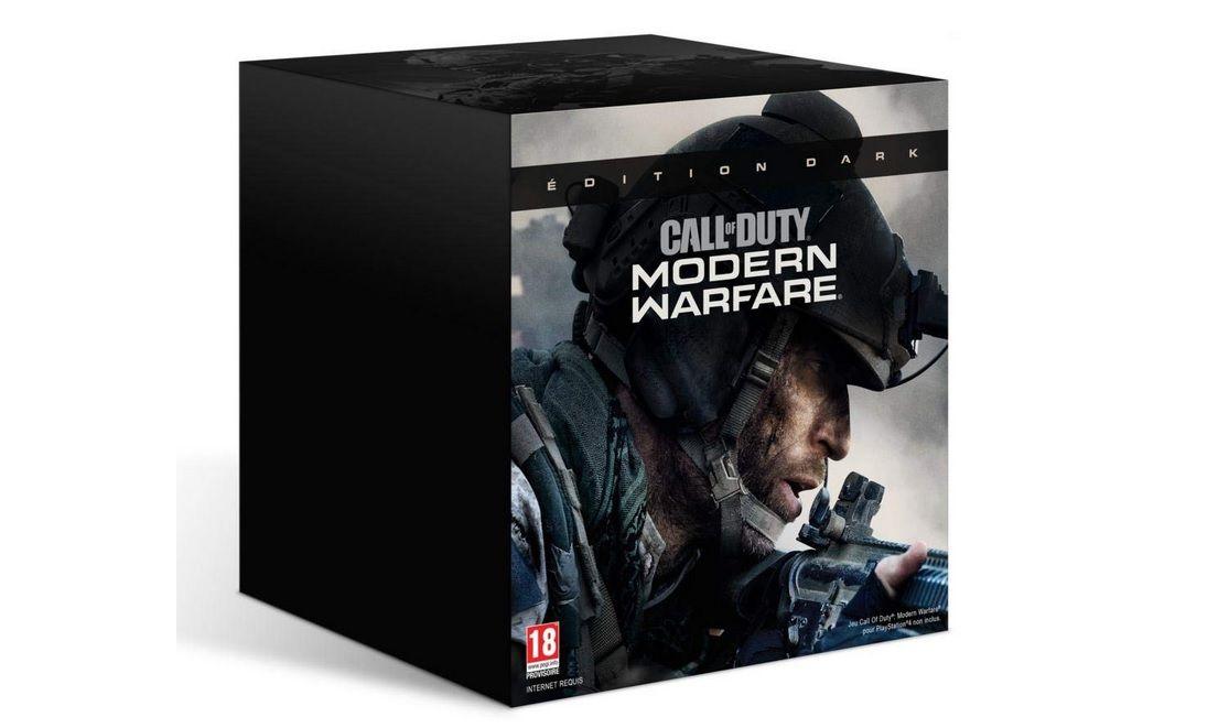 [RESTOCK AMAZON] Version collector 'DARK' de Call of Duty Modern Warfare sur PS4 et Xbox One