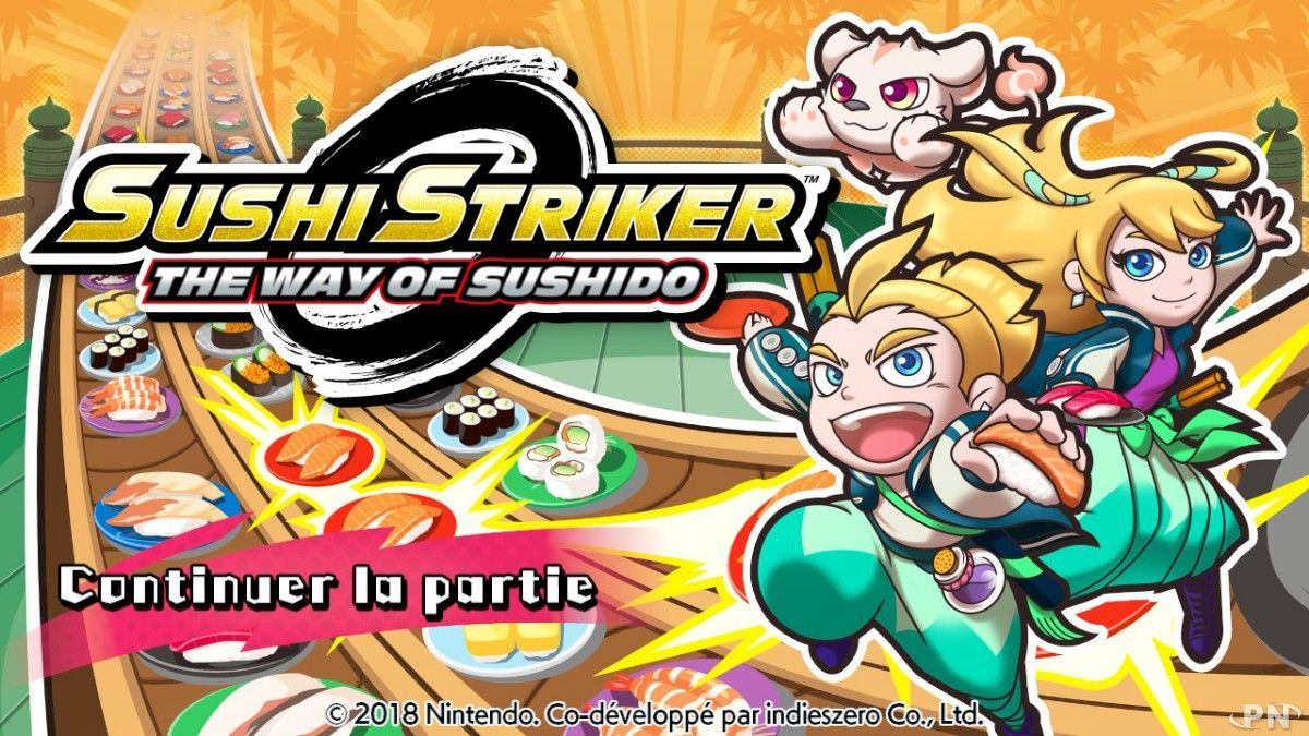 Bon Plan : Sushi Striker The Way Of Sushido sur Switch à 9,99 euros (au lieu de 49,99...)