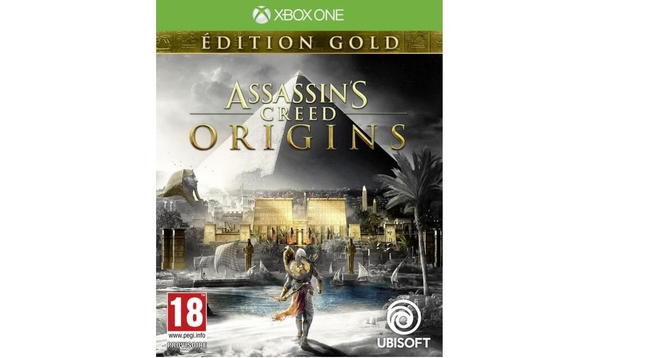 Bon Plan : Assassin's Creed Origins édition GOLD à 30 euros (au lieu de 99,99...)