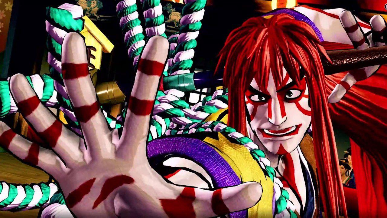 Samurai Shodown : Kyoshiro, le maître du Kabuki dévoile ses coups en vidéo !