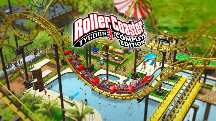 RollerCoaster Tycoon 3 - Complete Edition : Construisez le parc de vos rêves