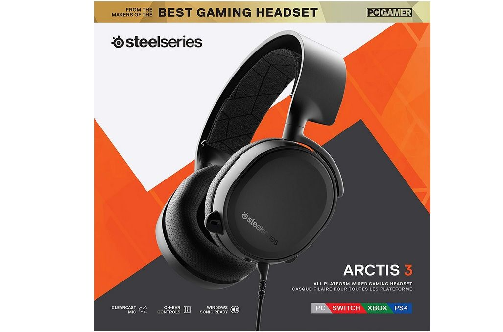 Bon Plan : SteelSeries Arctis 3 pour PS4, Switch, Xbox One, PC... à 49,99 euros (au lieu de 99,99...)