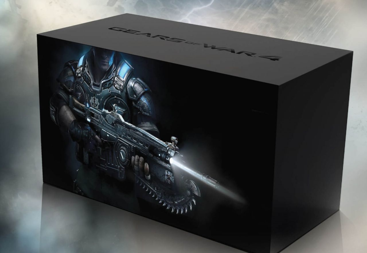 [Expiré] Bon Plan Zaavi : Gears of War 4 Collector's Edition - JD Fenix à 43,99 euros (au lieu de 118,99...)