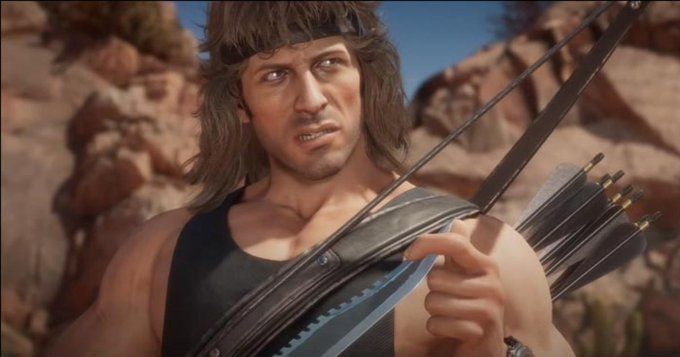 Mortal Kombat 11 Ultimate : Trailer de Rambo