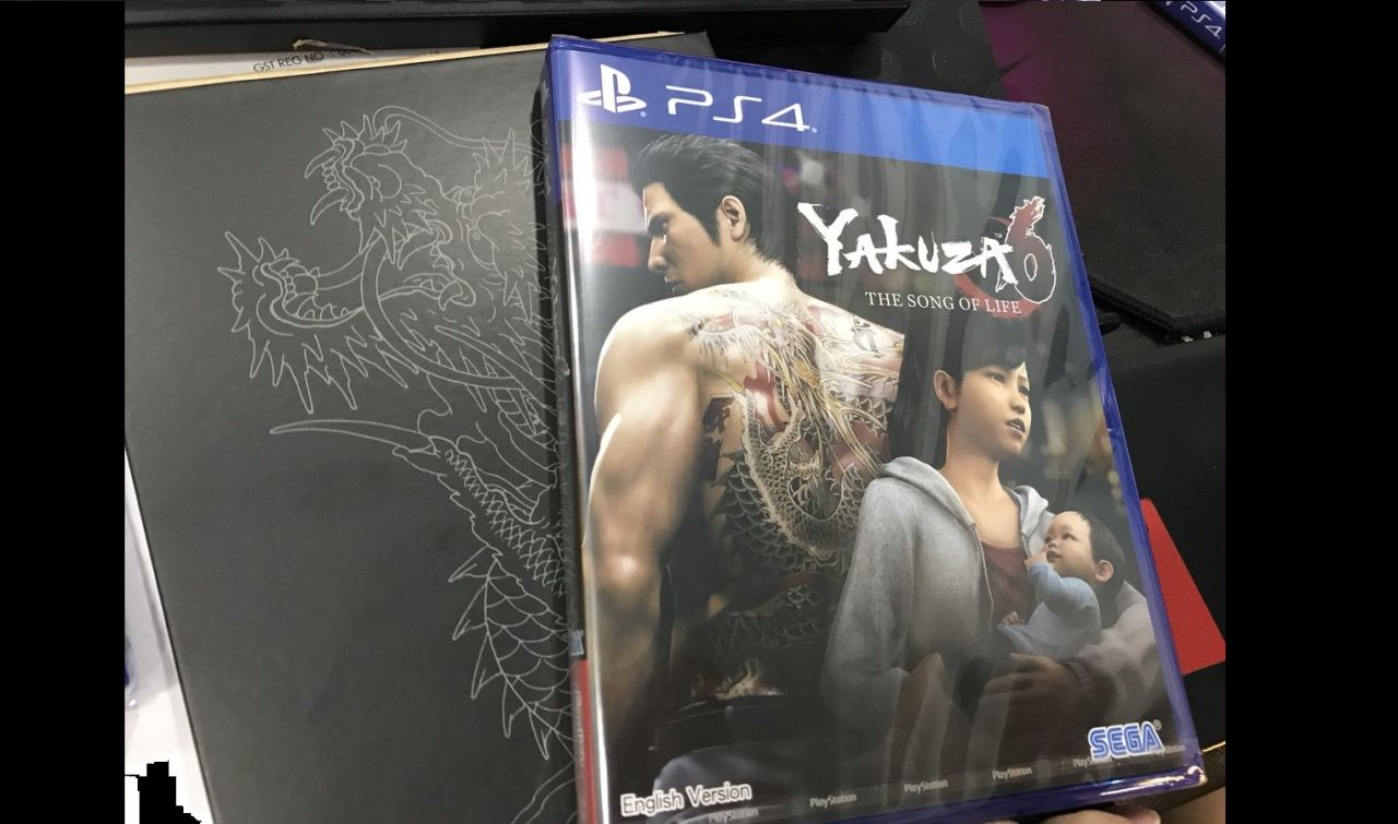 Bon Plan : L'édition 'Essence of Art' de Yakuza 6 The Song of Life à 32,06 euros (au lieu de 69,99...)