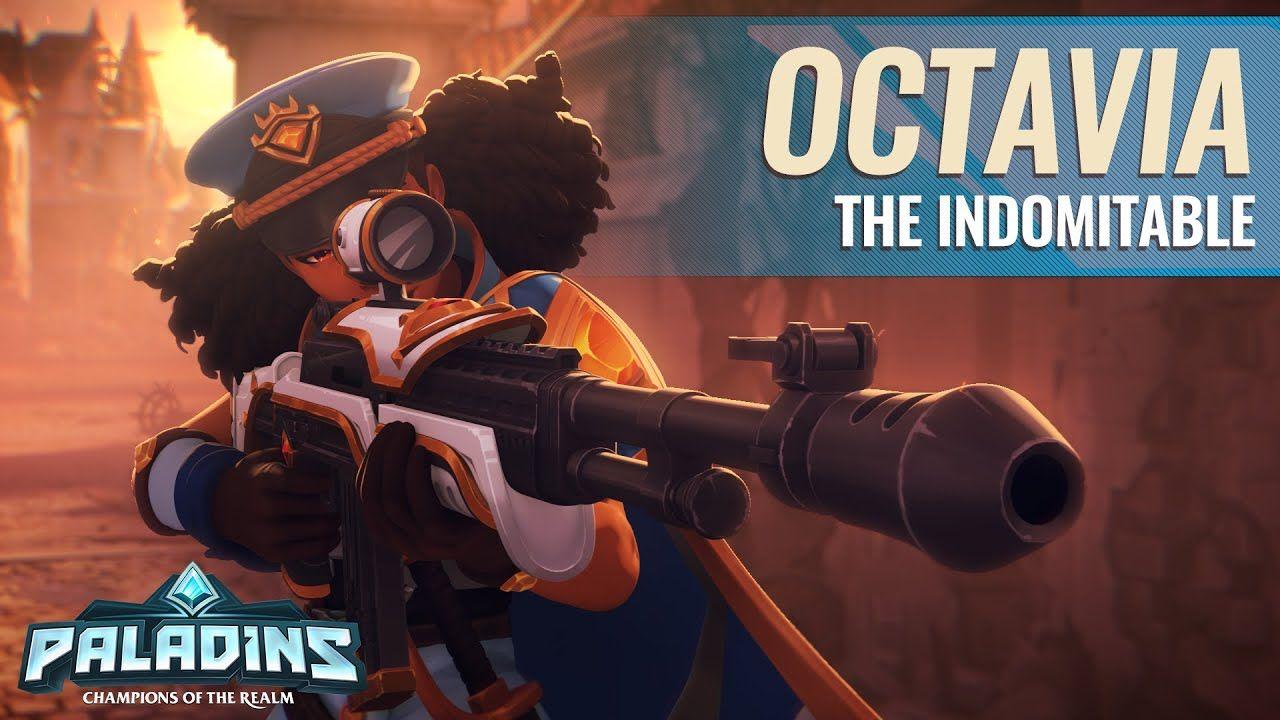 Paladins : Octavia, la nouvelle championne se dévoile en vidéo