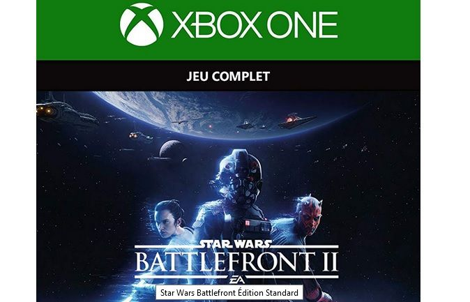 Bon Plan Amazon : Star Wars Battlefront 2 sur Xbox One à 7,49 euros (au lieu de 24,99...)